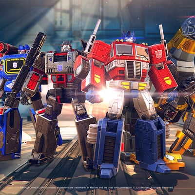 Badger atack space ape games transformers earth wars troop line up