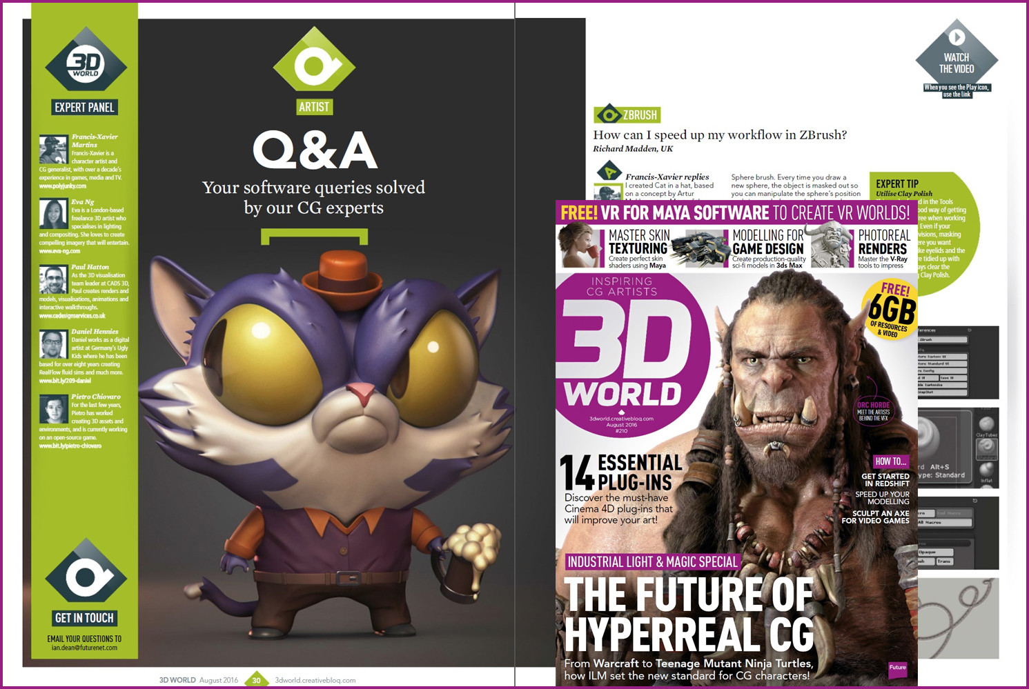 Francis xavier martins cat3dworld magazine
