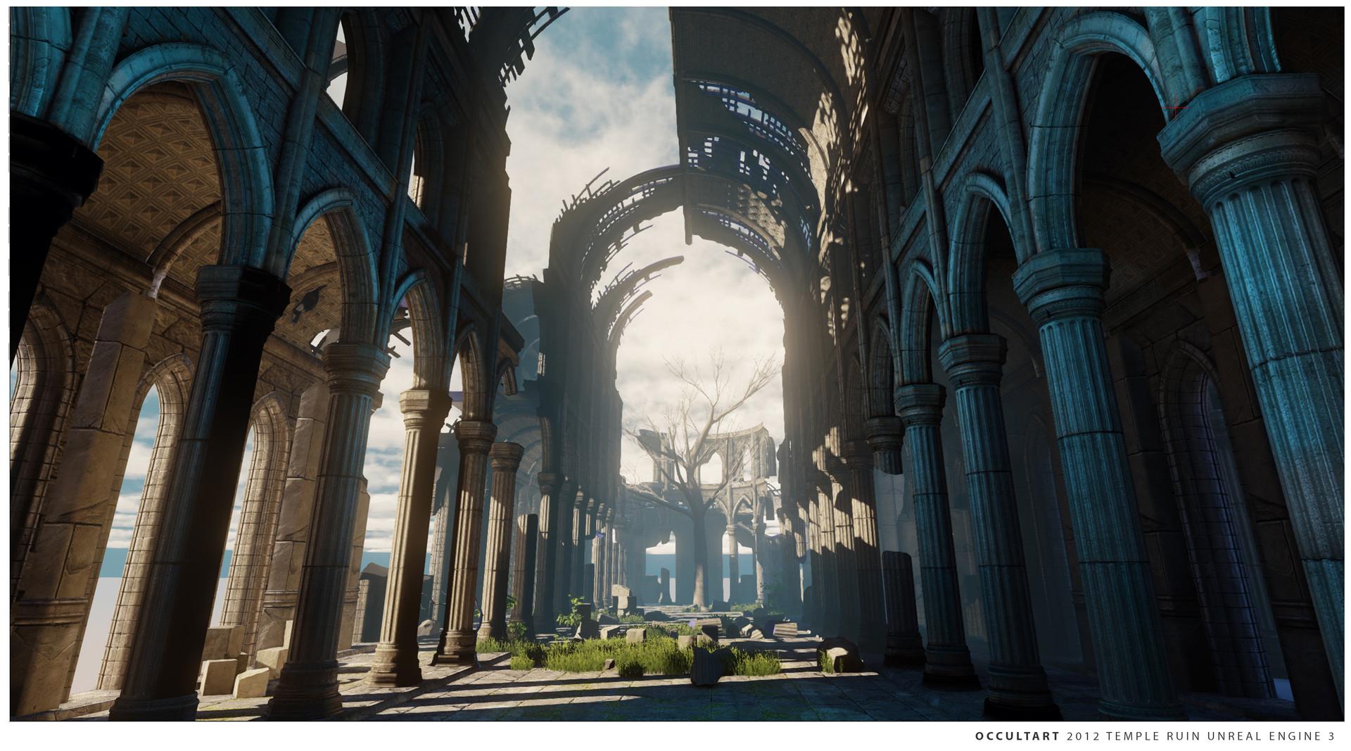 Occultart Creation Studios Temple Ruin Ue3