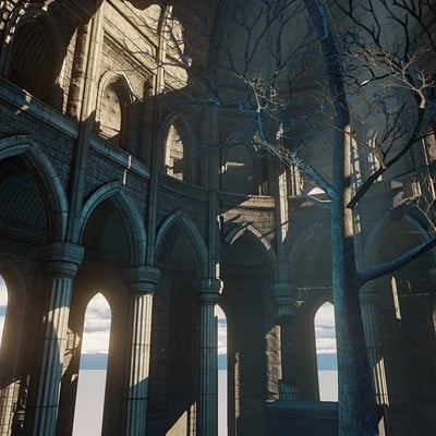 Occultart   templeruin 3