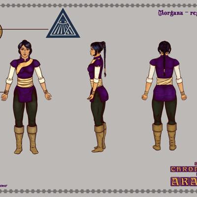 Dimitri cosmos morgana regular attire