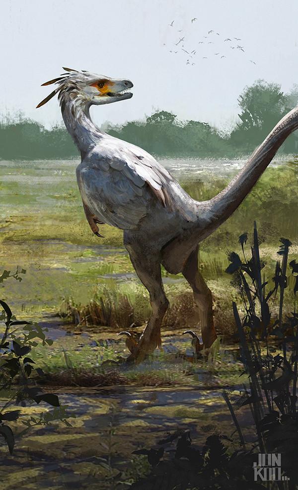 Jonathan kuo saurornitholestes low