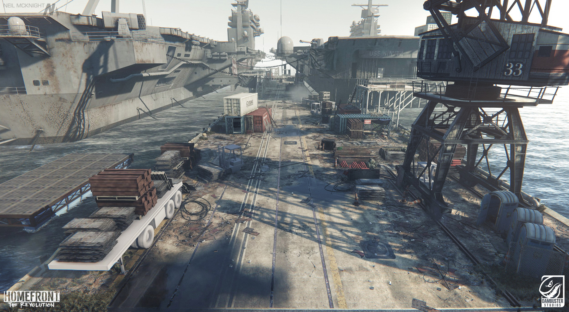 ArtStation - Homefront the Revolution: Philadelphia Navy