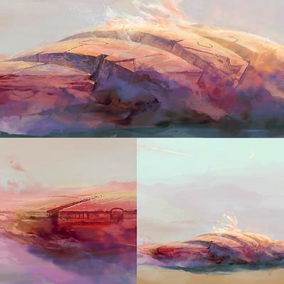 Stethebee shipsnclouds dusk update