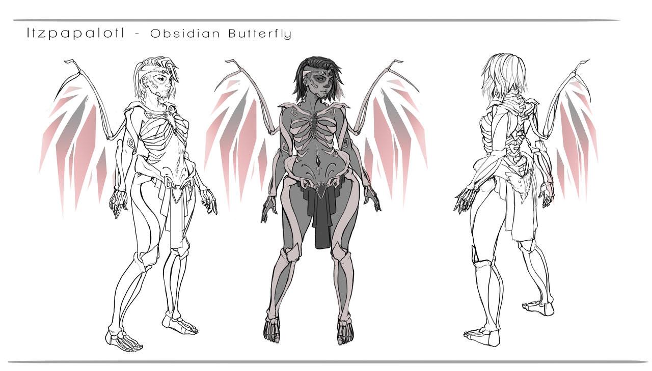 Whitney lanier obsidian goddess design by dreamerwhit d9z5i7y