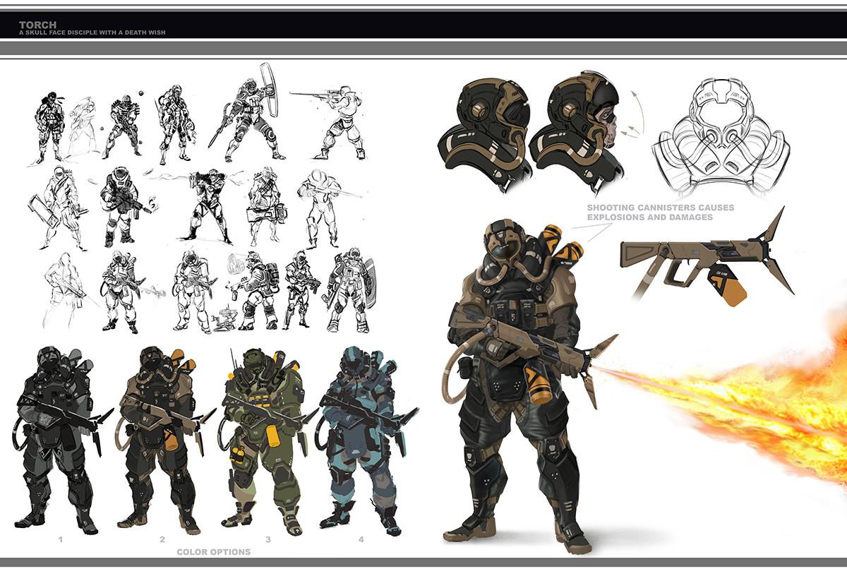 Artstation metal gear online concept art jordan lamarre wan for Concept metal