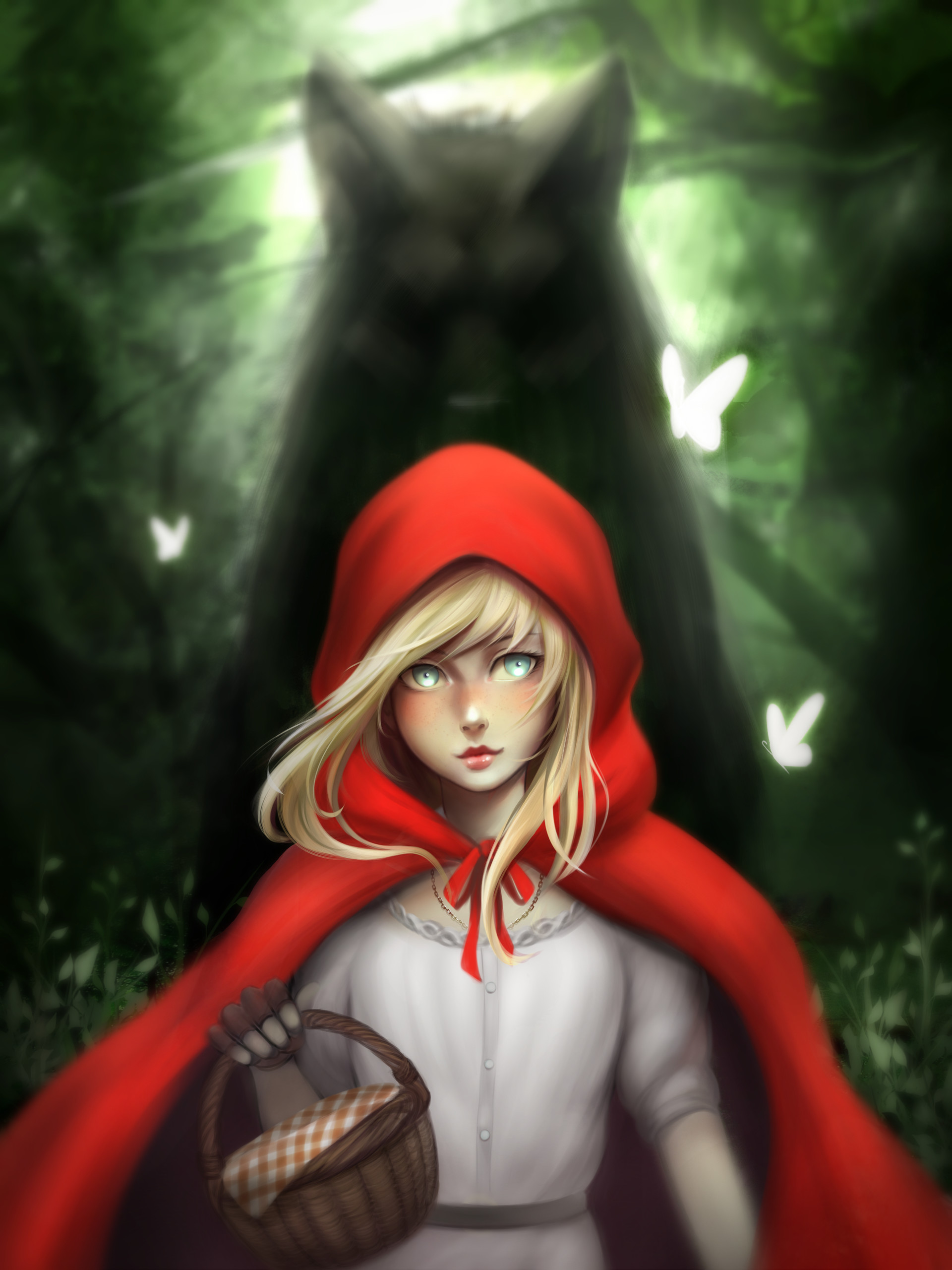 the theme of red riding hood Visualising little red riding hood sarah bonner in recent years contemporary artists have been appropriating and re-inventing traditional fairy tales.