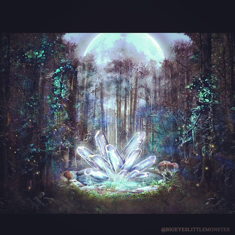 UI Art and Animation for Crystal Forest HD