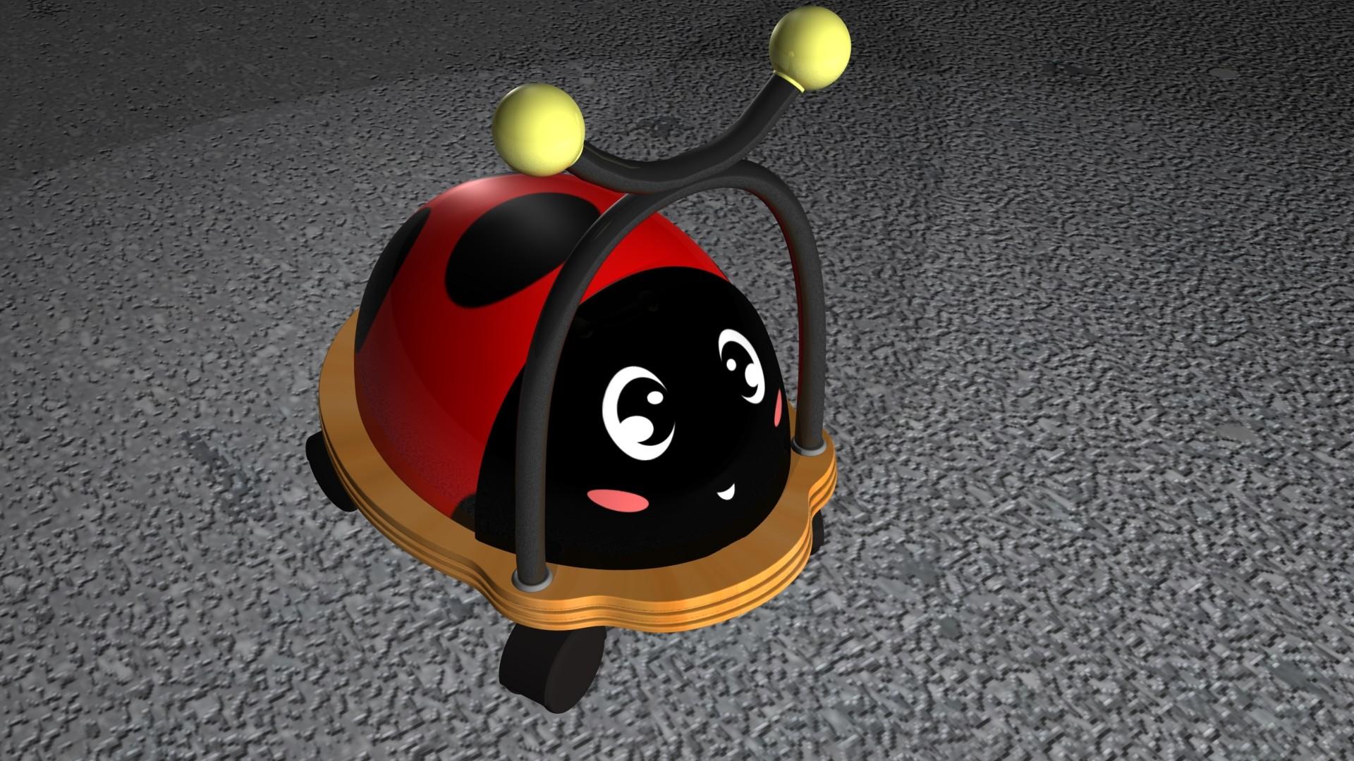 Jessica vira ladybug version 1