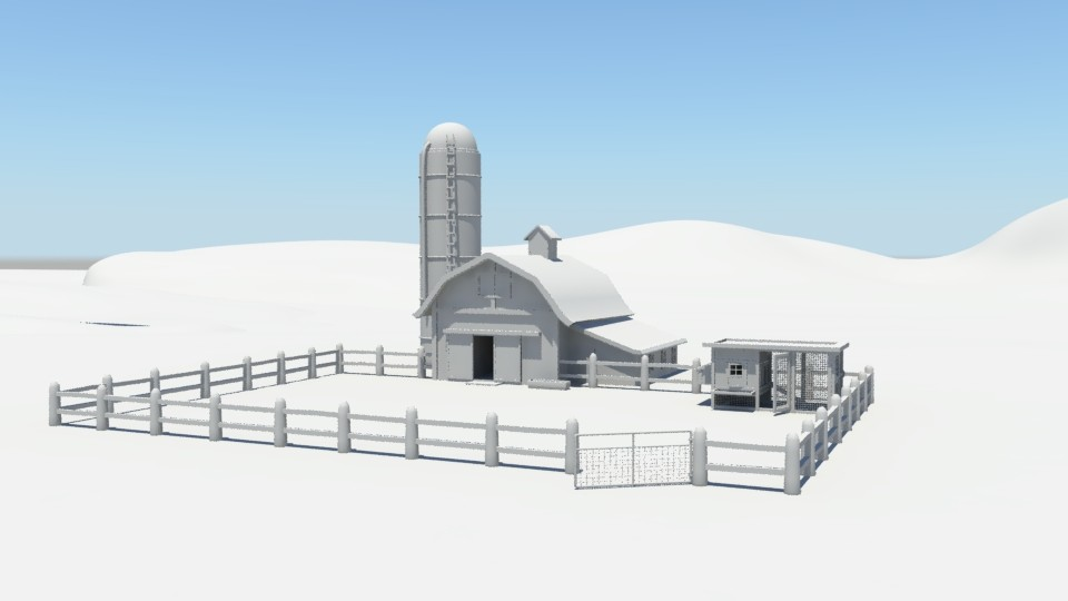 Jessica vira barn and coop total basic render