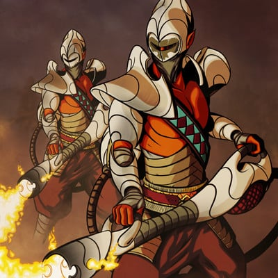 Stephen boyce starfire immolators
