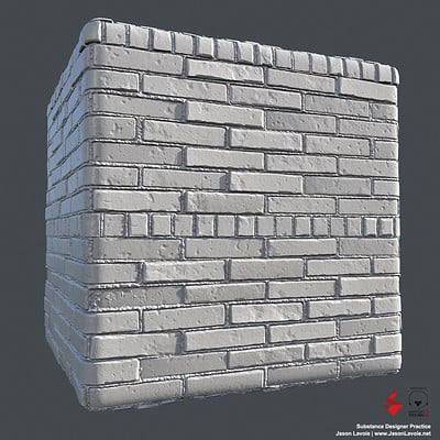 Substance Designer Practice - Brick Wall