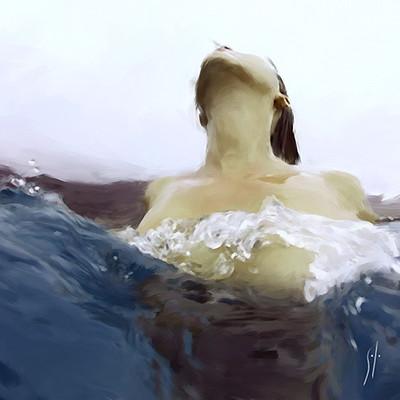 Solo art breaking the waves 800