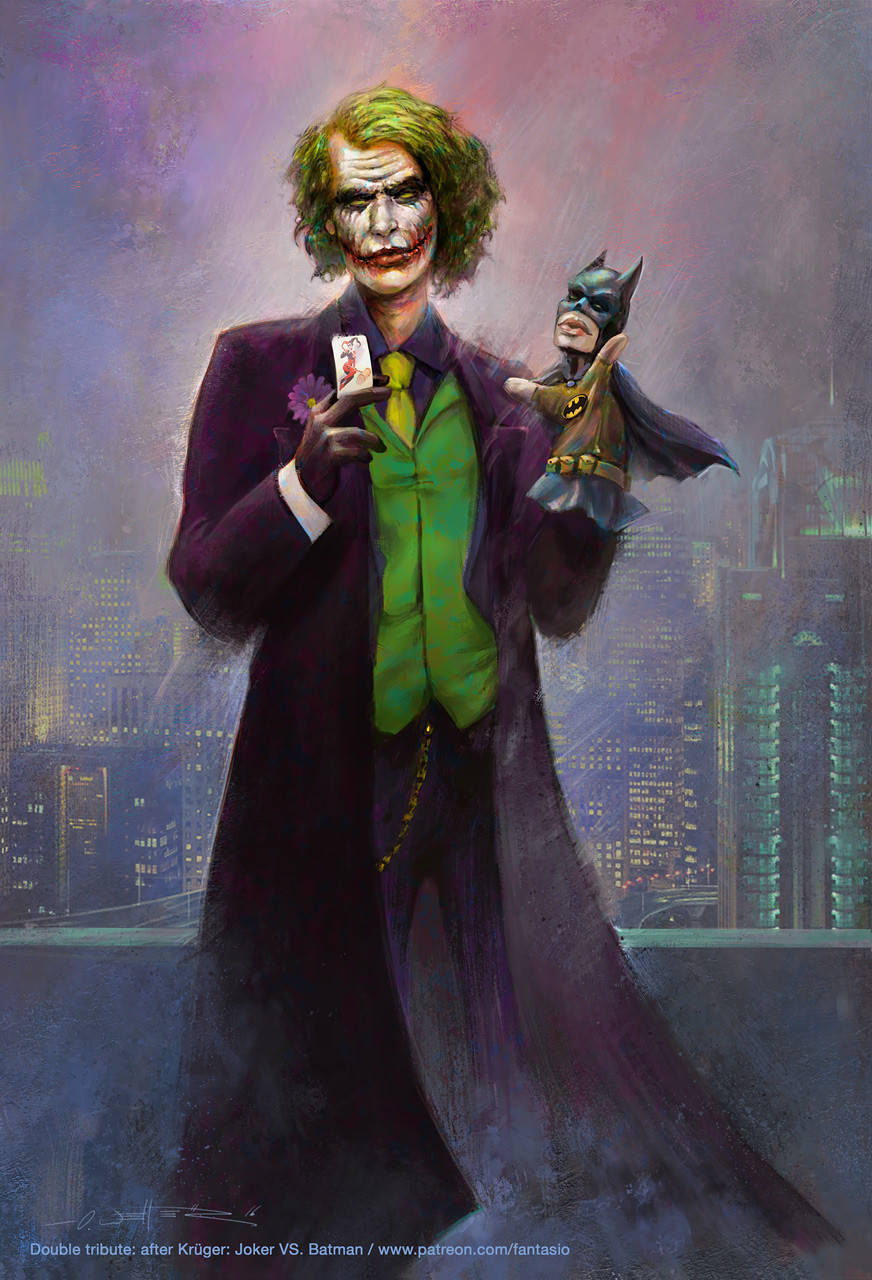 Joker VS. Batman - after Krueger