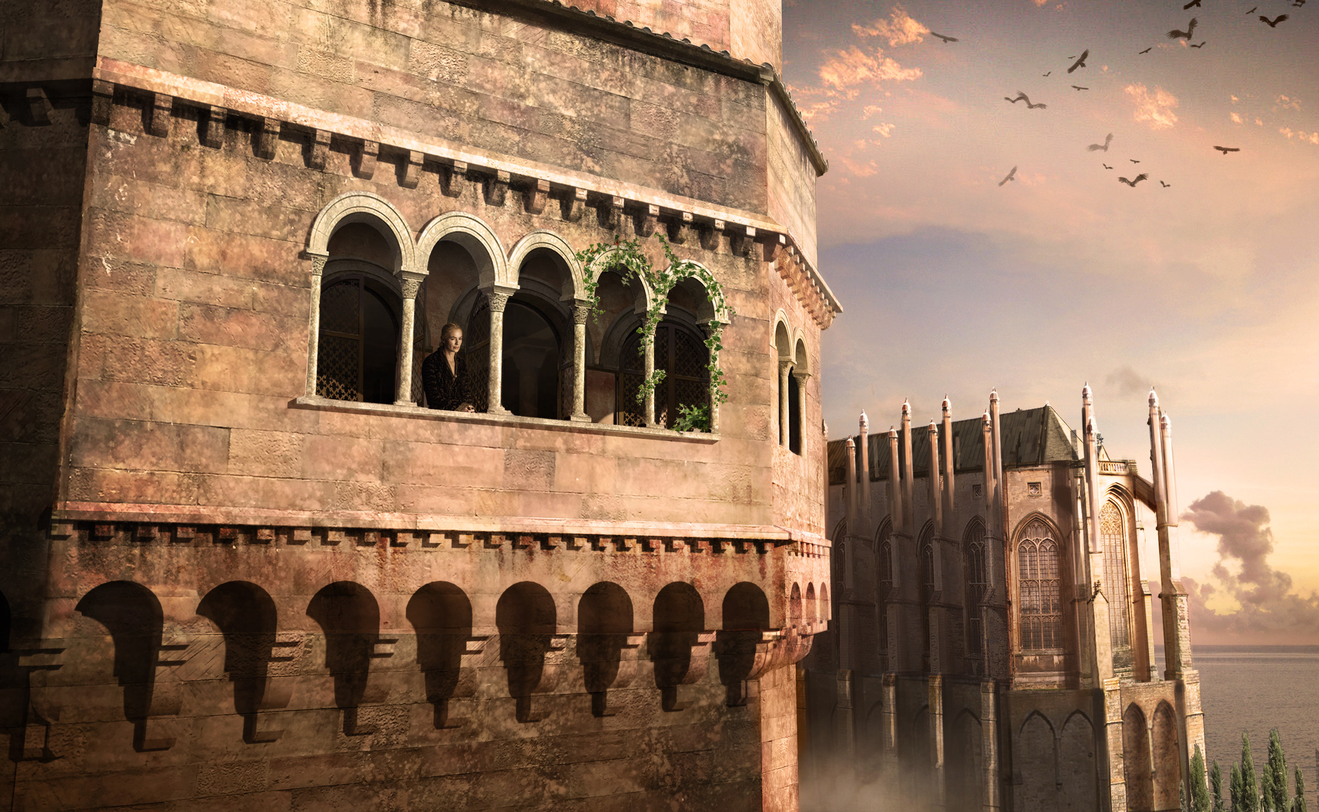 Cersei's chamber Exterior