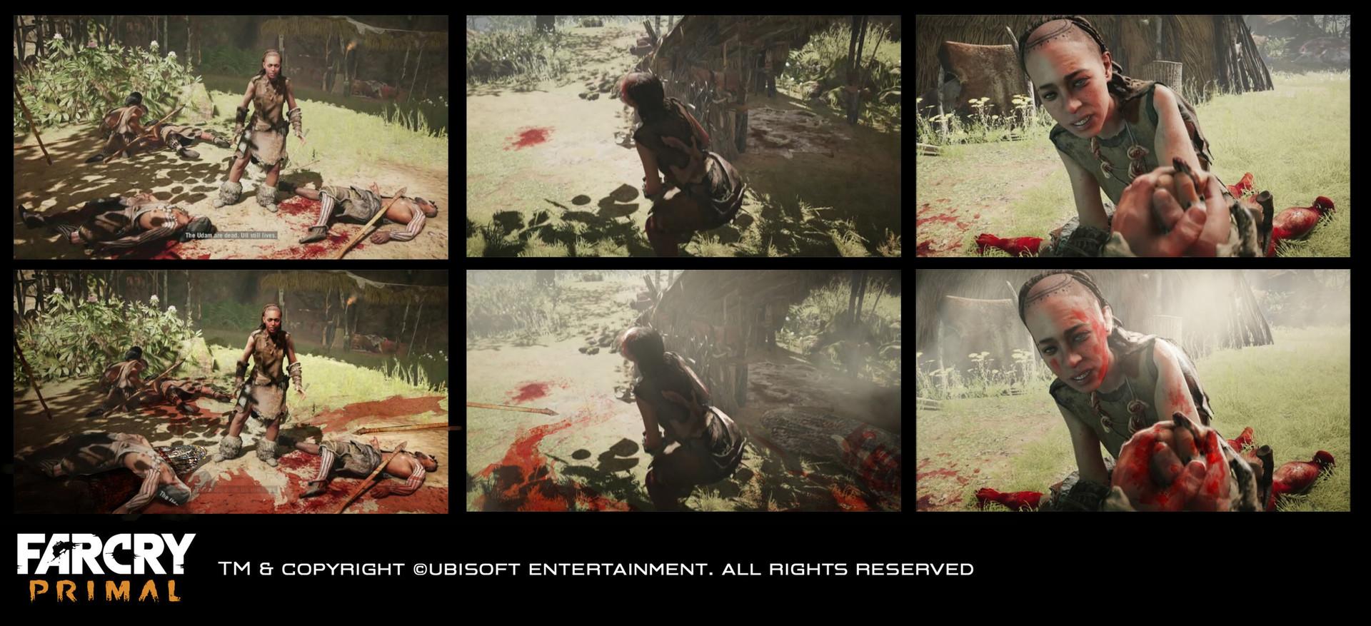 Nicolas Oroc In Game Cinematic Concept Art