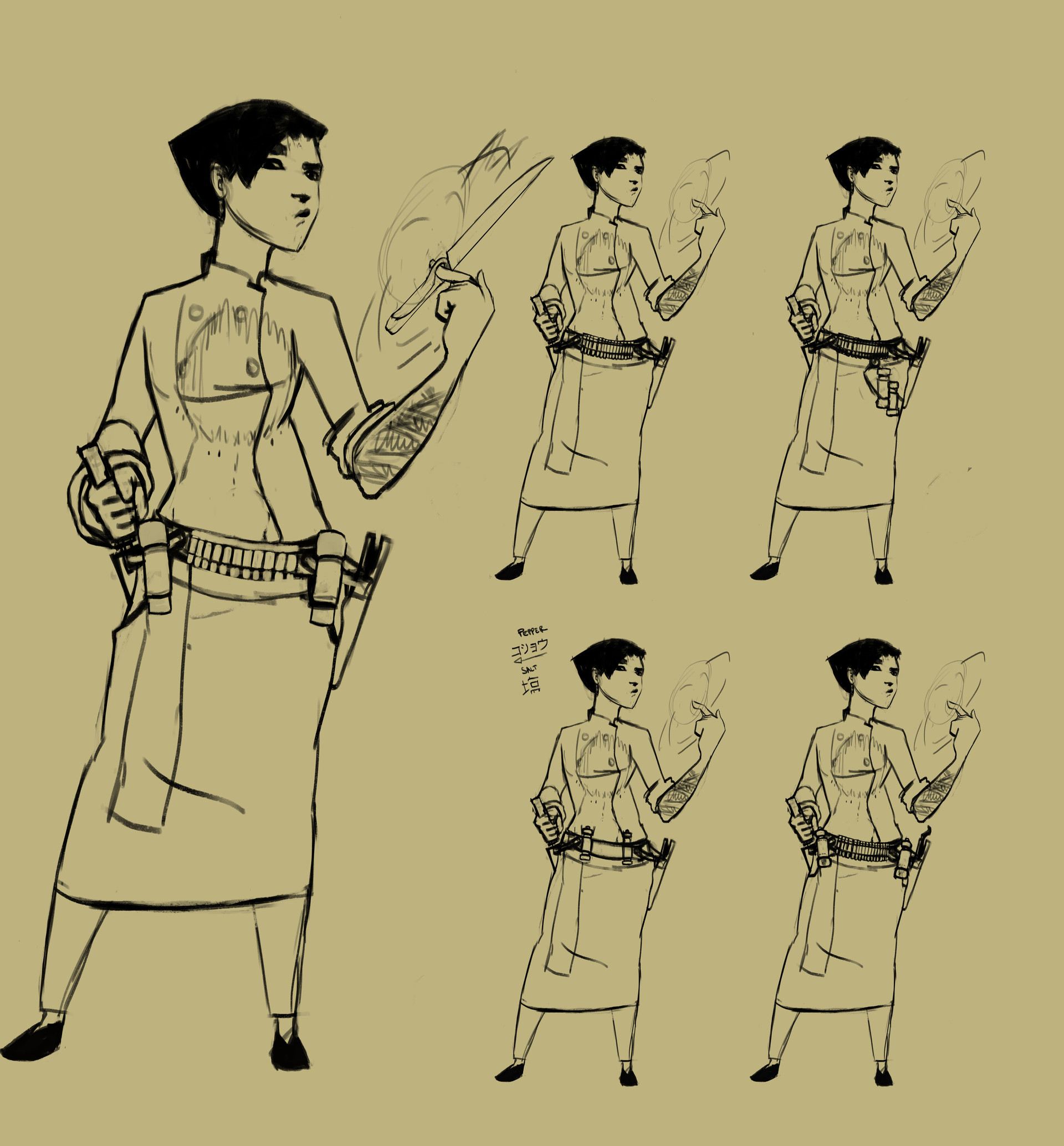 Victor debatisse japanese master sketches