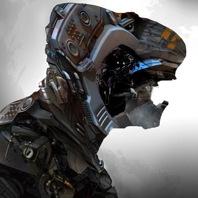 Chris petrocchi robot head