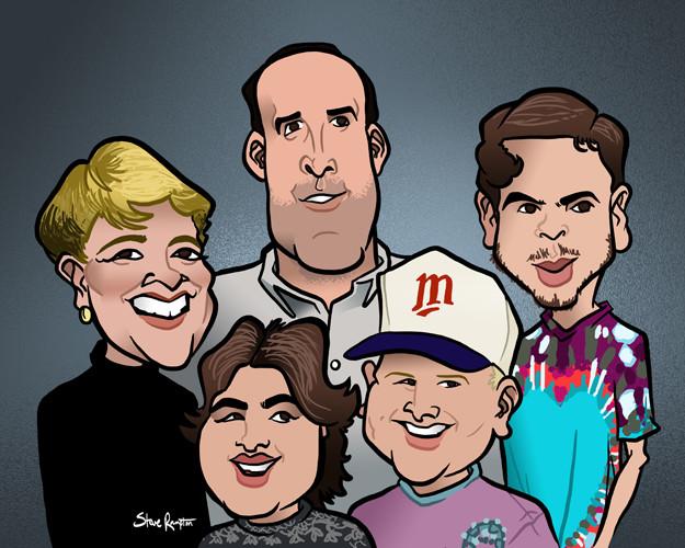 Steve rampton rj family