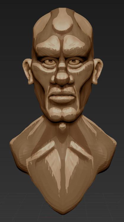 Jeremy roland jeremy roland sculpt character