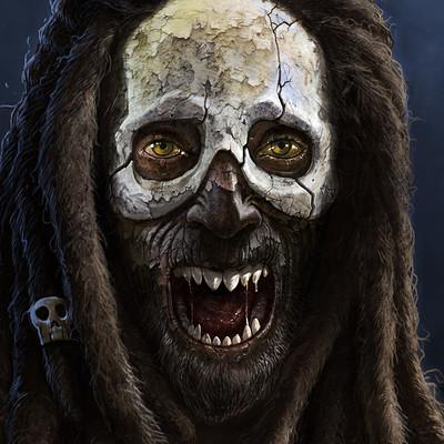 Emmanuel bouley deathmask texture