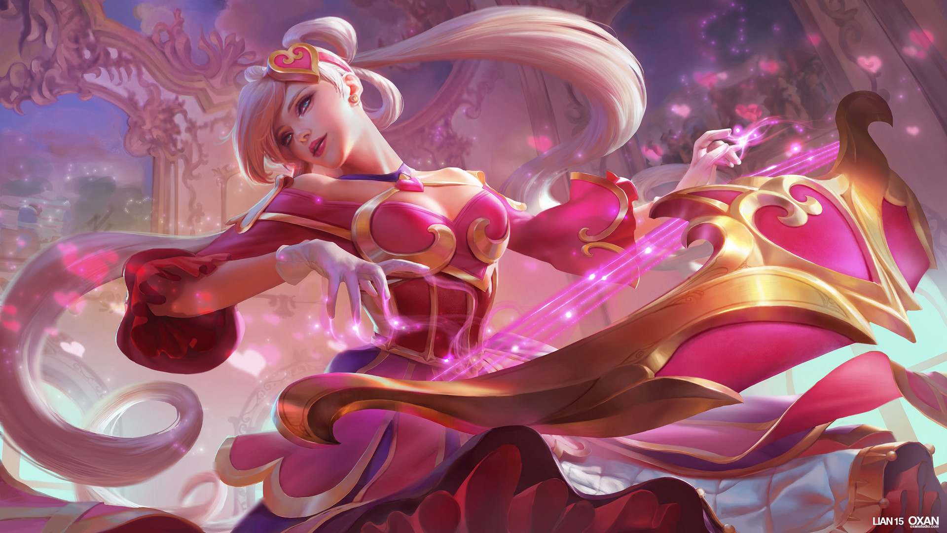 Artstation - Sweetheart Sona - League Of Legends Splash -8747