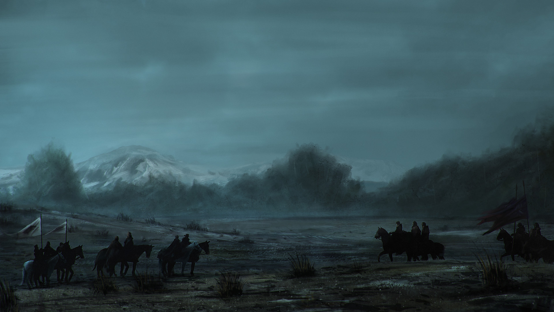 Artstation Game Of Thrones Battle Of The Bastards Pantelis