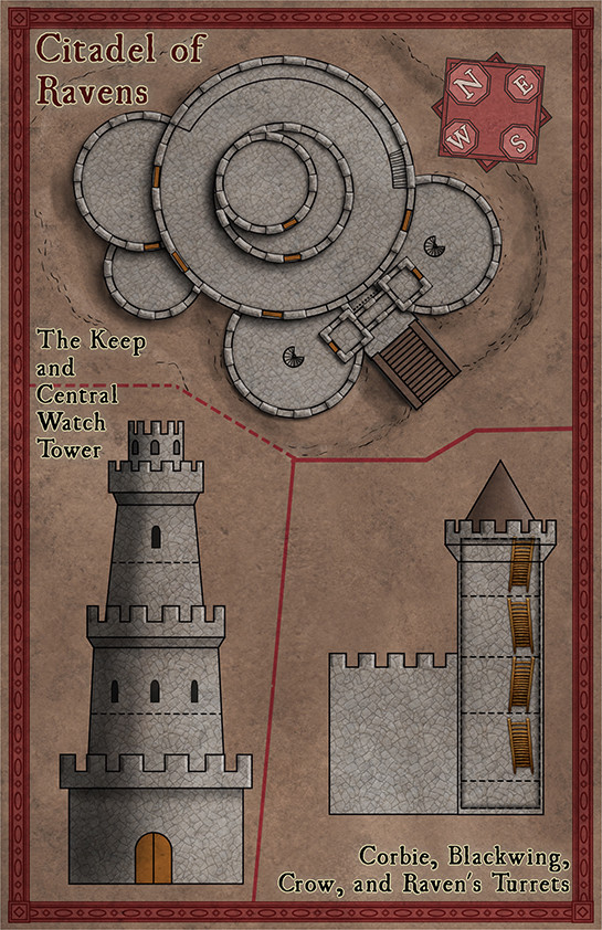 Robert altbauer citadell of ravens pm lr