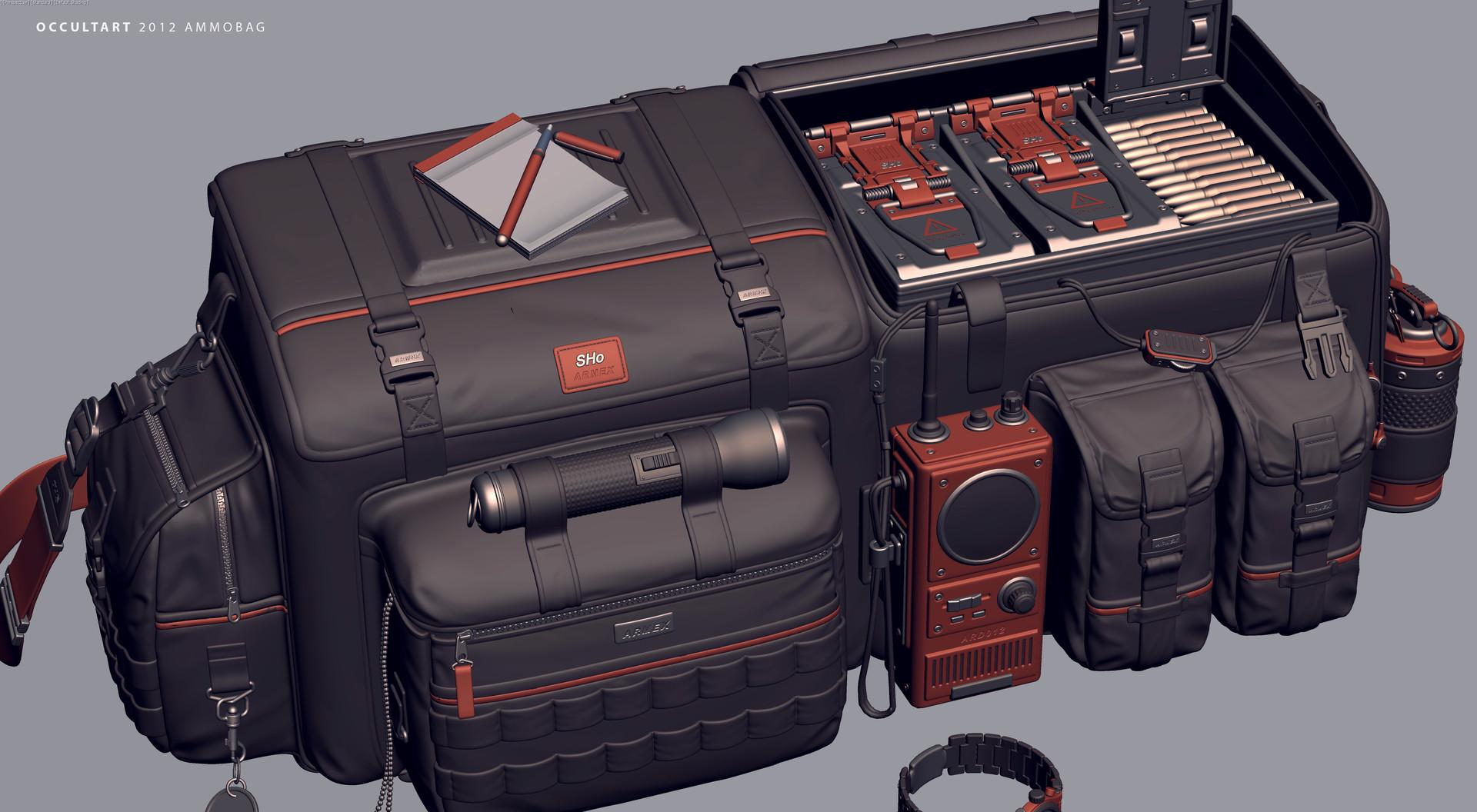 Occultart   ammobag 27