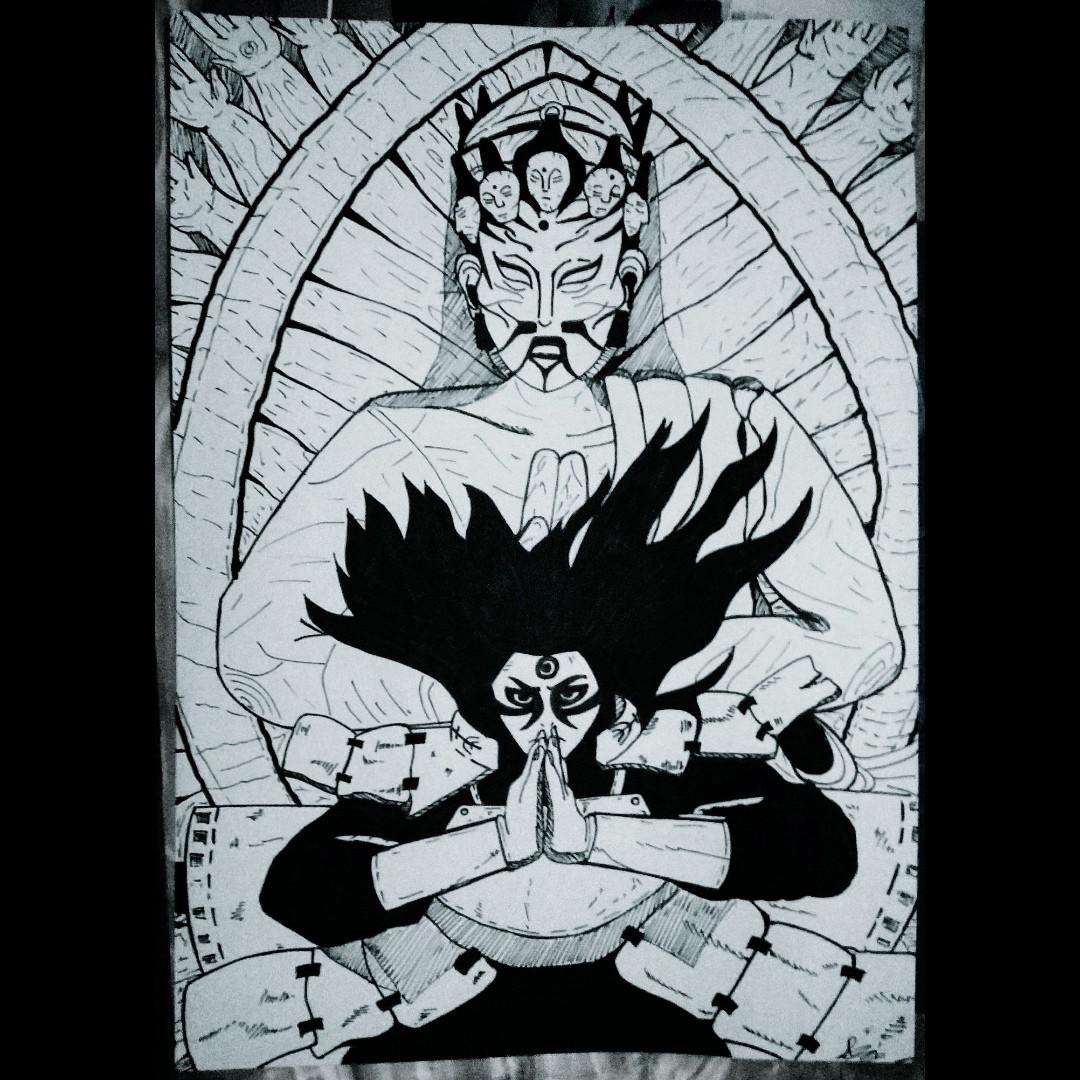 Anime - Senju Hashirama