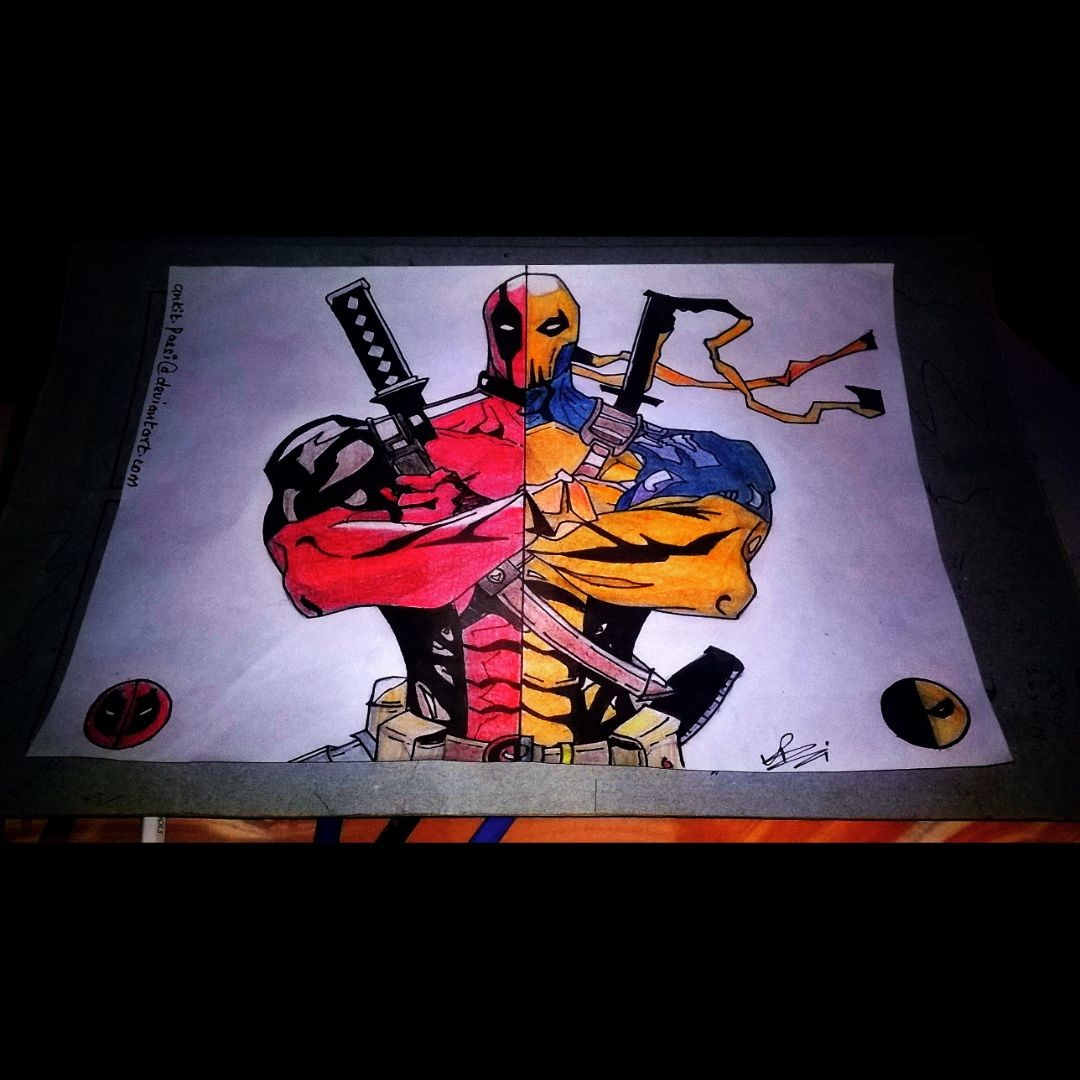 Original Combination - Deadpool/Deathstroke