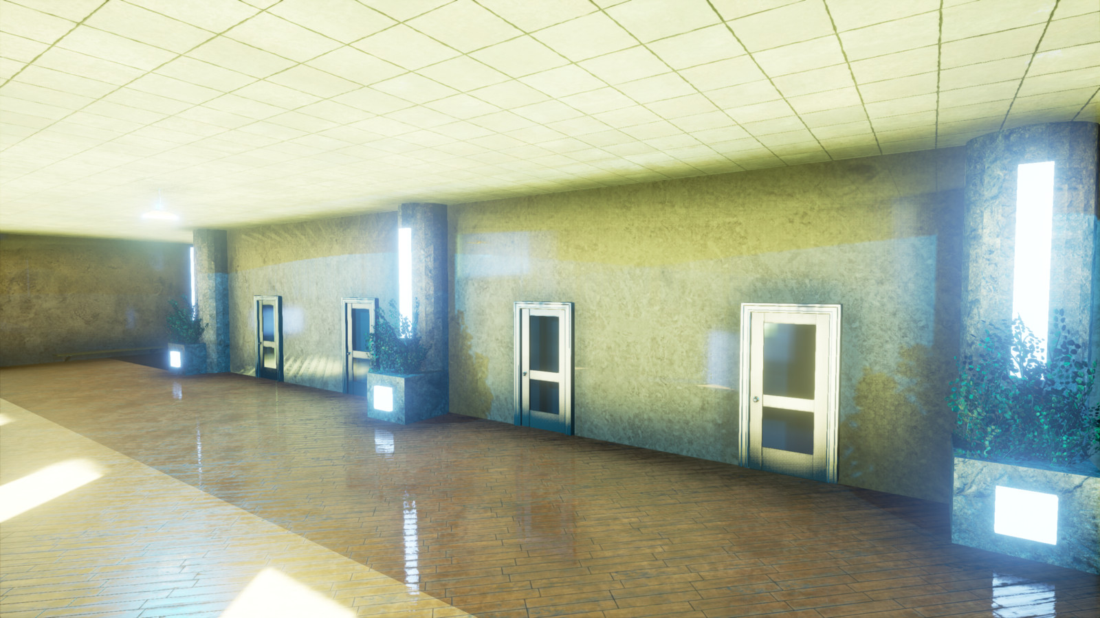 Shot #5 - Corridor