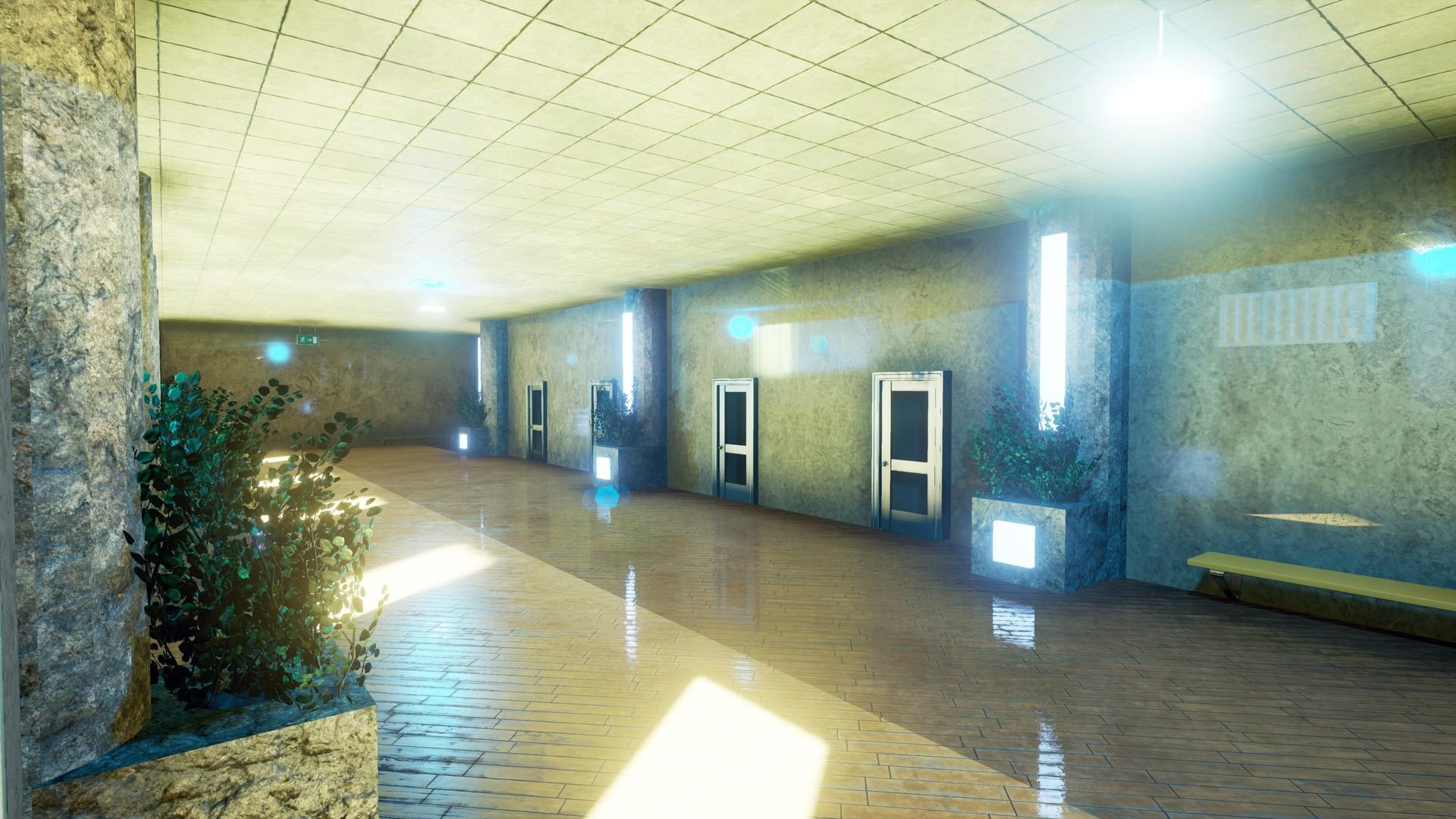 Shot #3 - Corridor(Zoomed in)