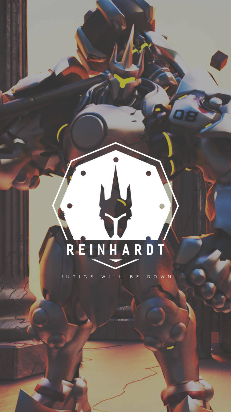 Artstation Overwatch Reinhardt Wallpaper Mobile C L W N