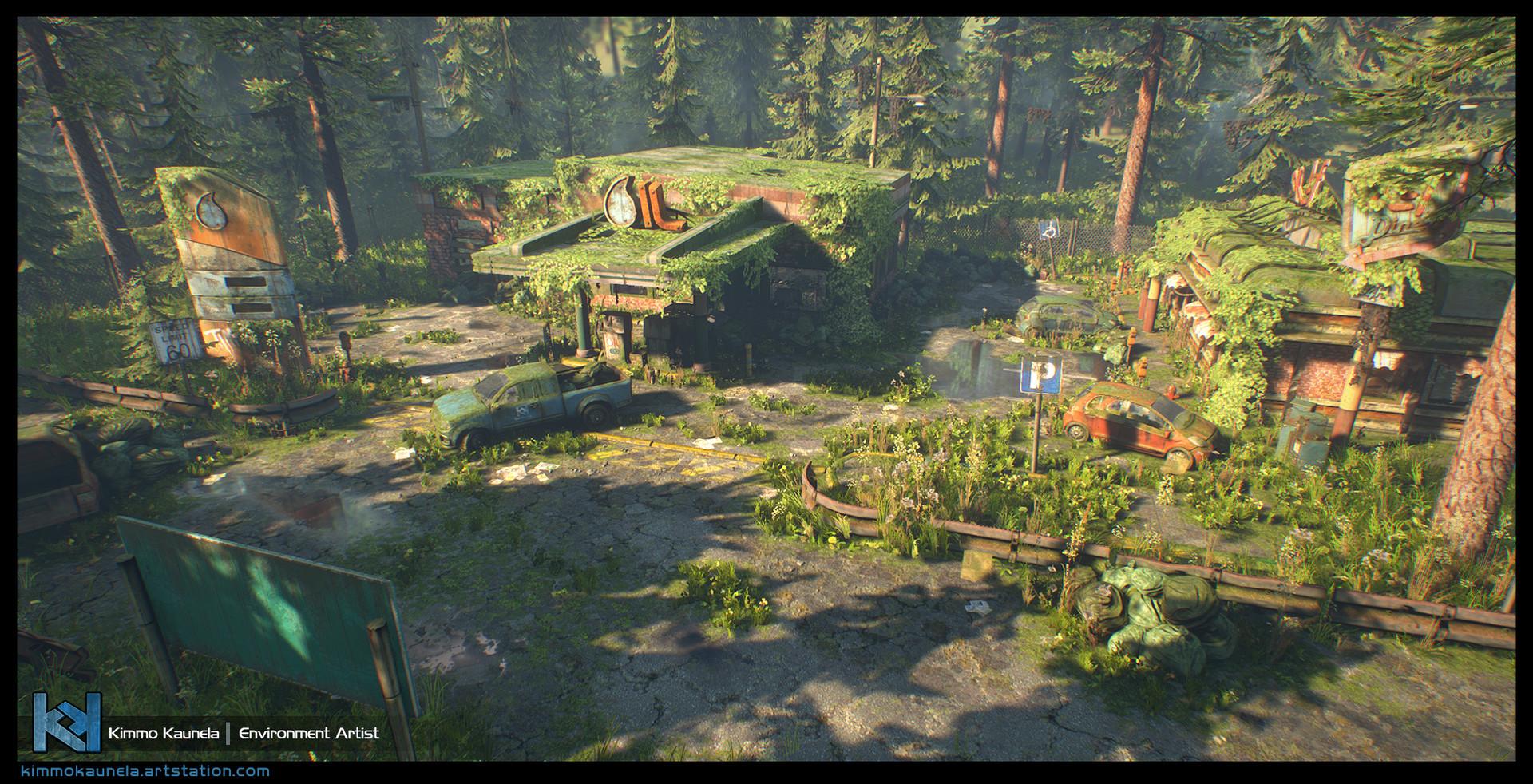 ArtStation - The Last Stop - Unreal Engine 4, Kimmo Kaunela