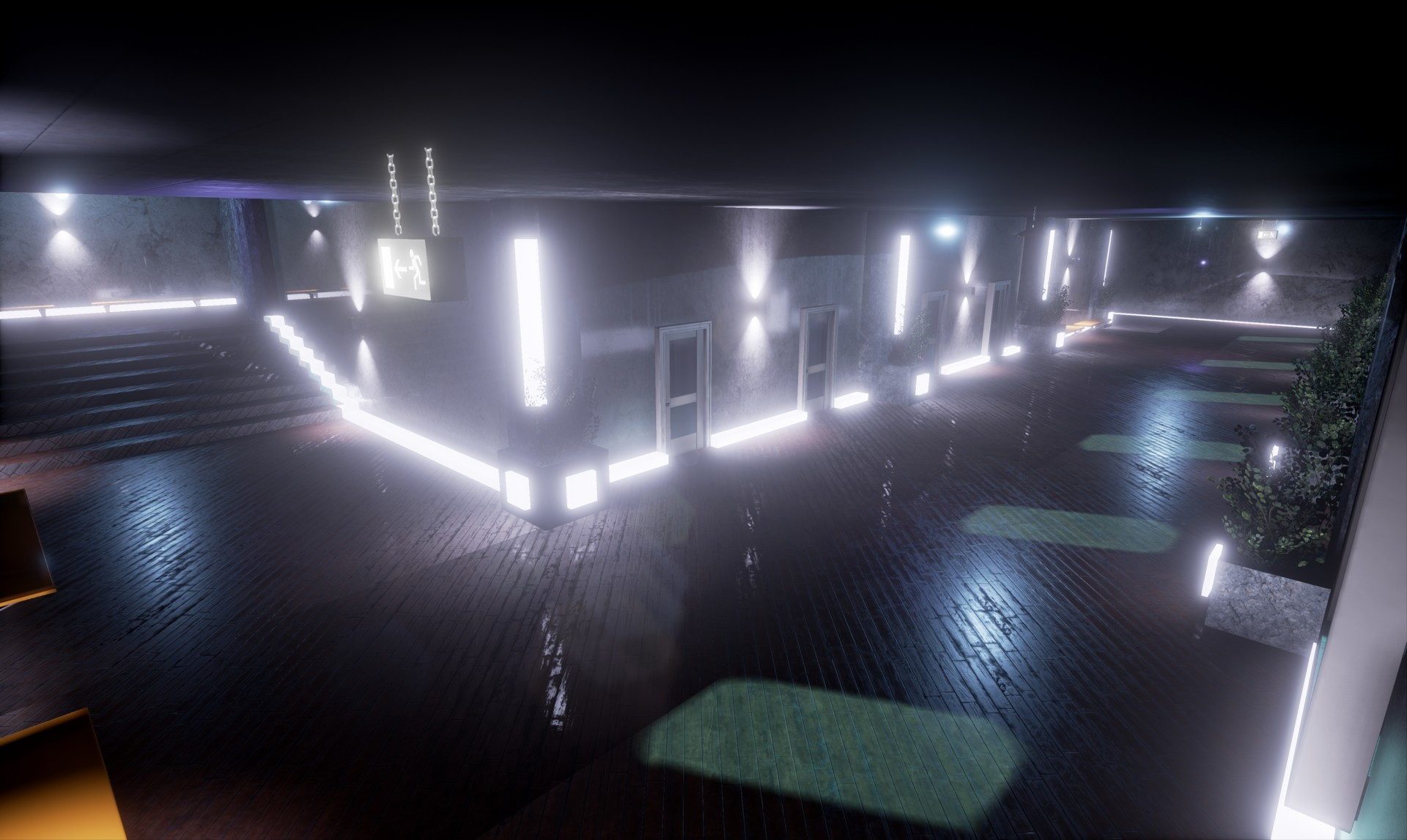 Corridor Project - Night and Tron Theme