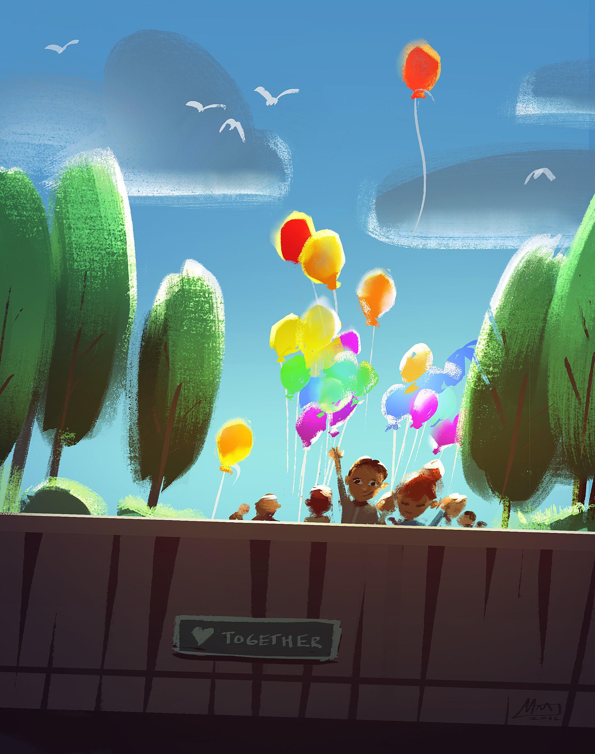 Mike mccain balloons