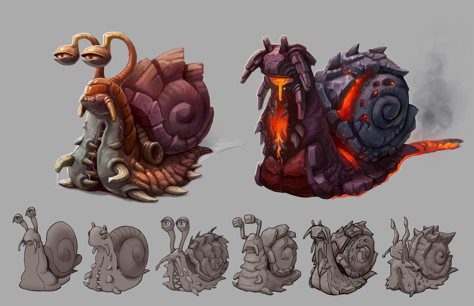 Lloyd hoshide snail layouts