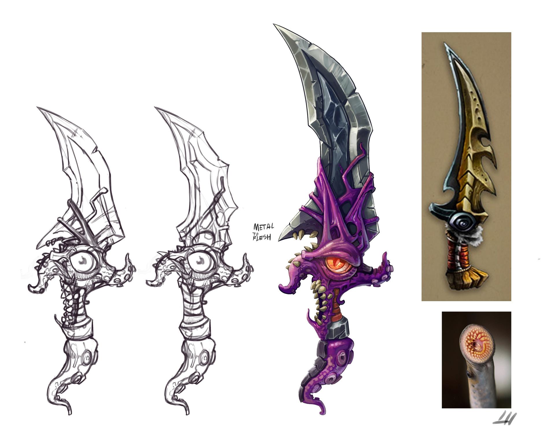 Lloyd hoshide dagger concept