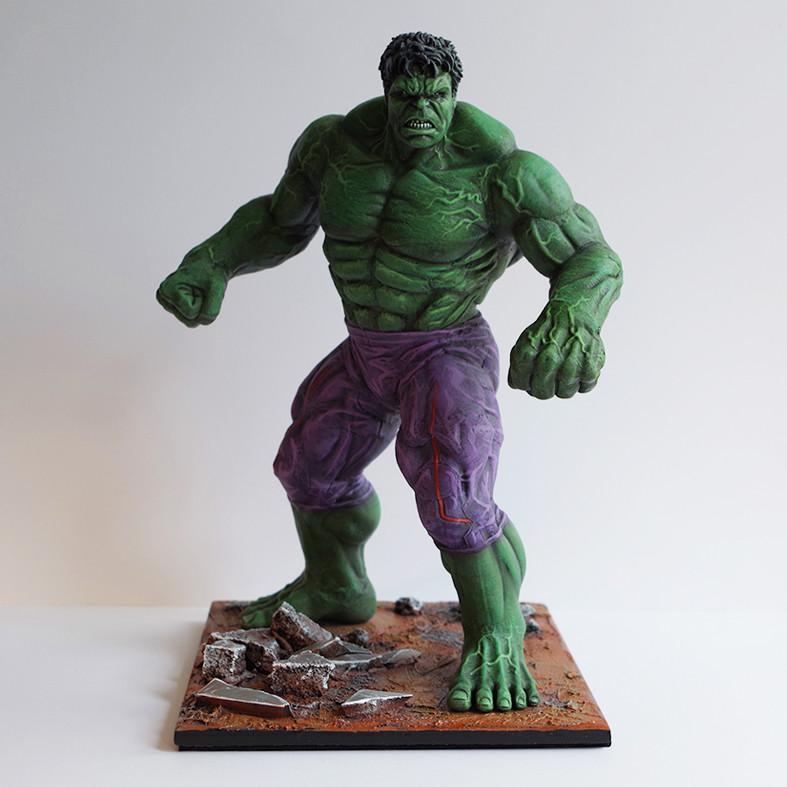 Artstation Hulk Statue Portal Immortal