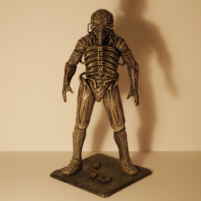 Artstation Engineer Space Jockey Statue From Alien And Prometheus Portal Immortal