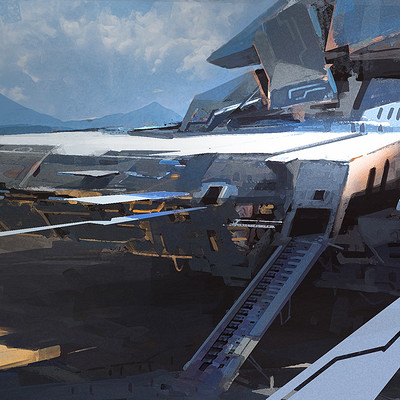 Ayan nag spaceship by ayan nag lr