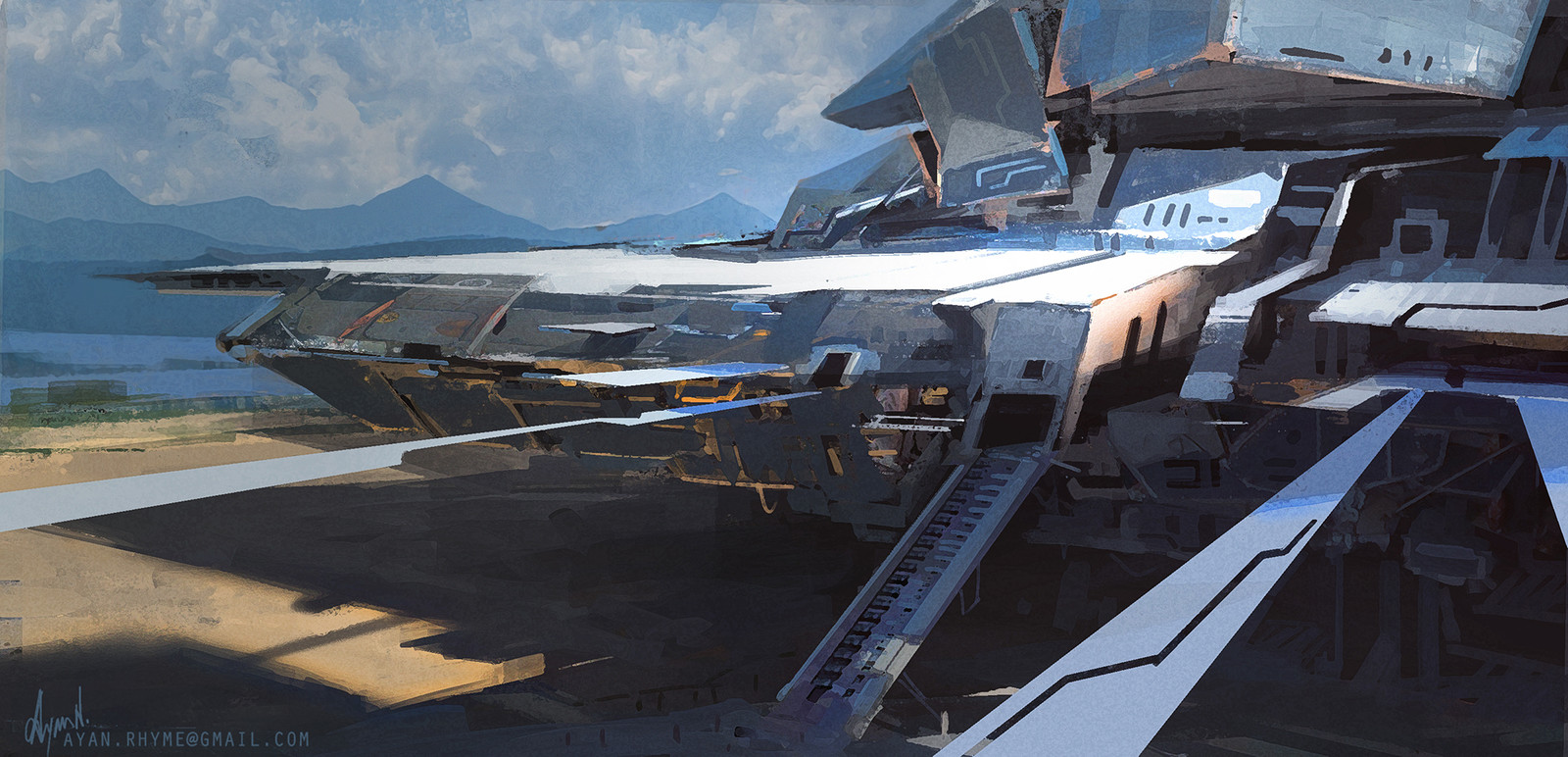 Spaceship looking thing!
