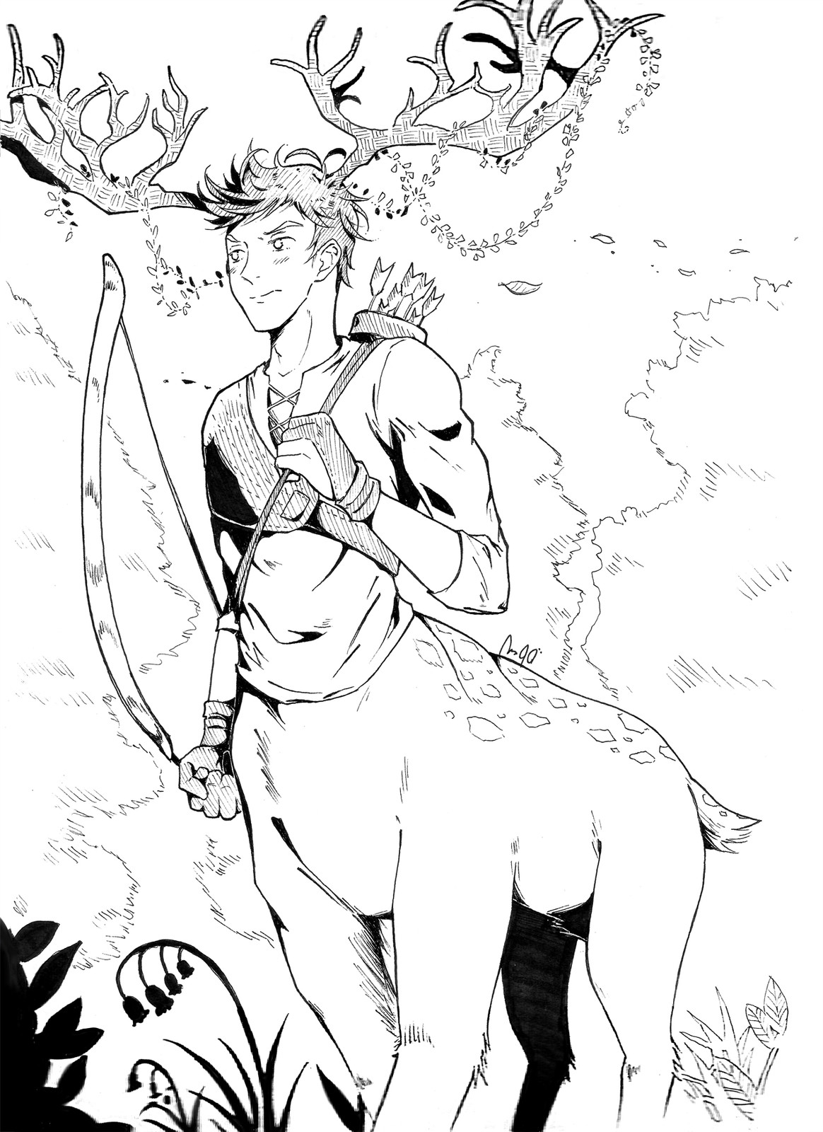 Tsundere centaur.