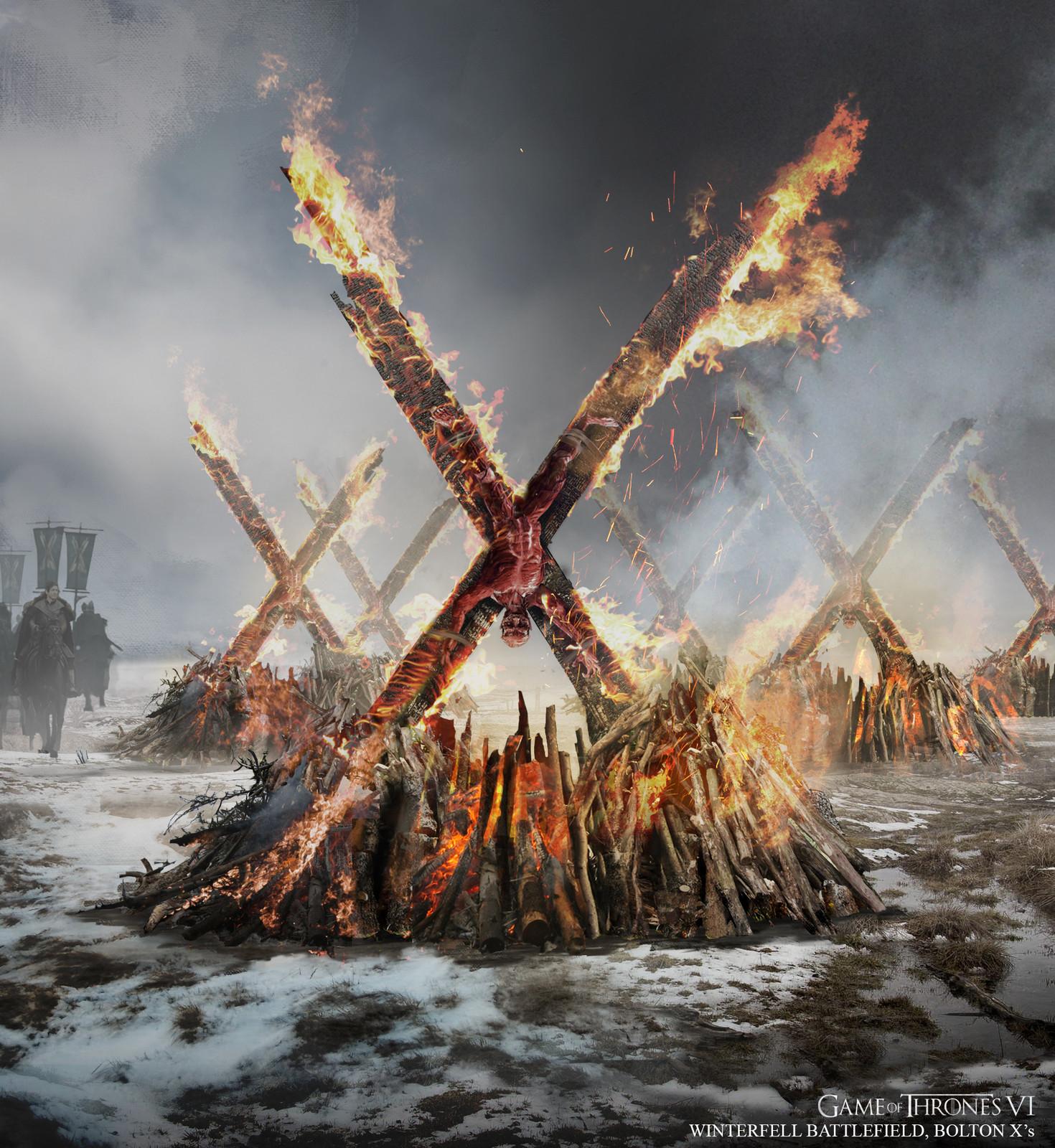 The burning Bolton X