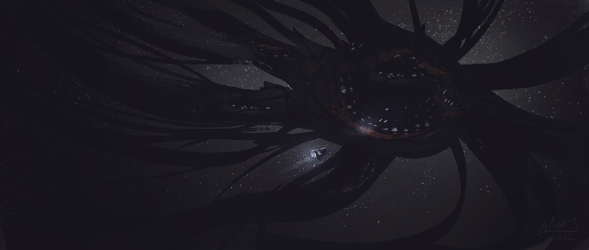 Mike mccain spaceshipvsmonster