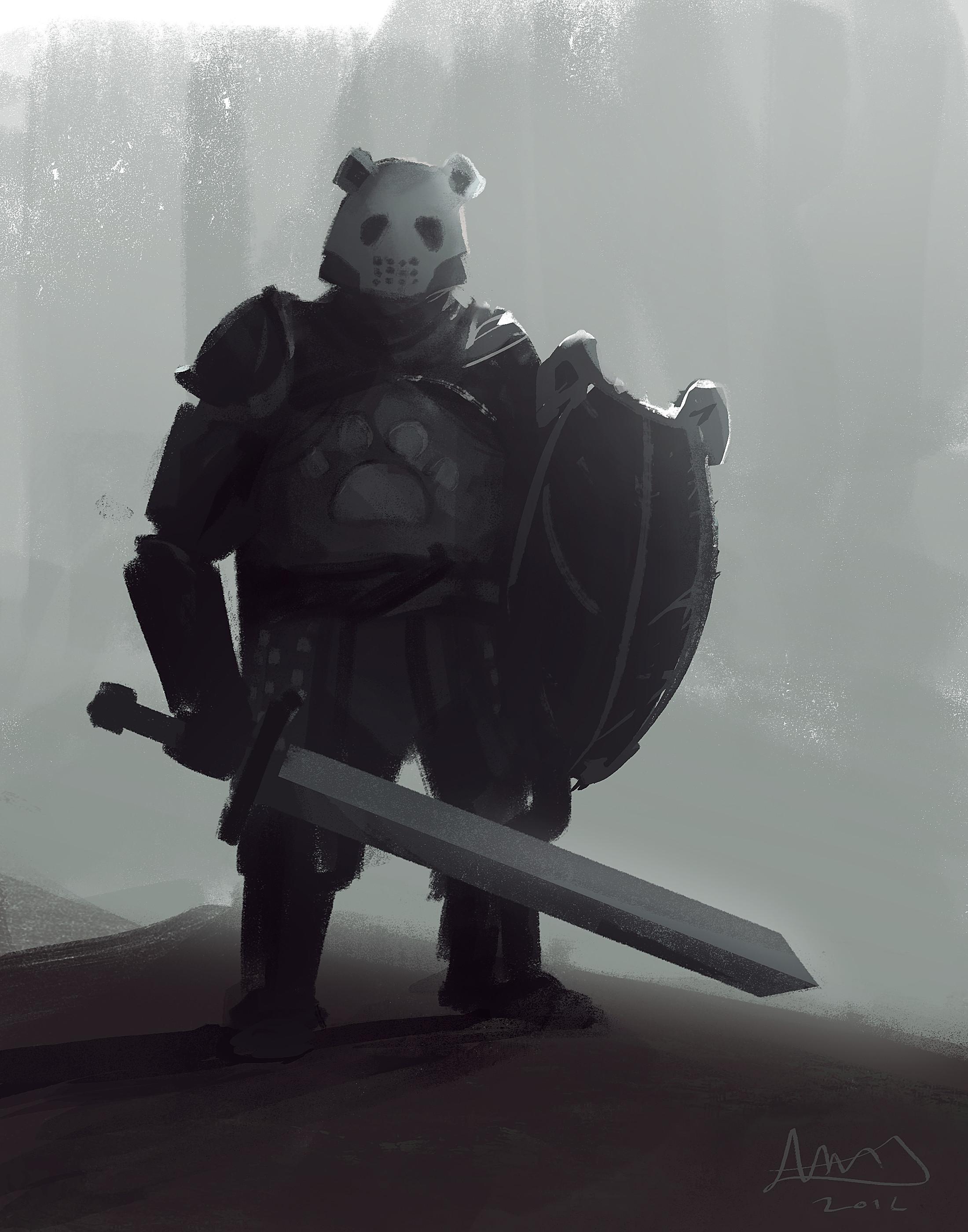 Panda Knight