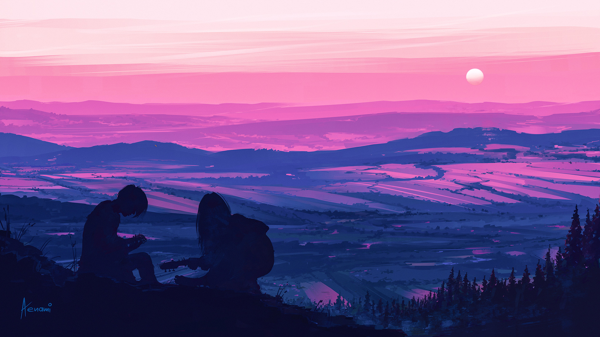 Alena aenami couple1k