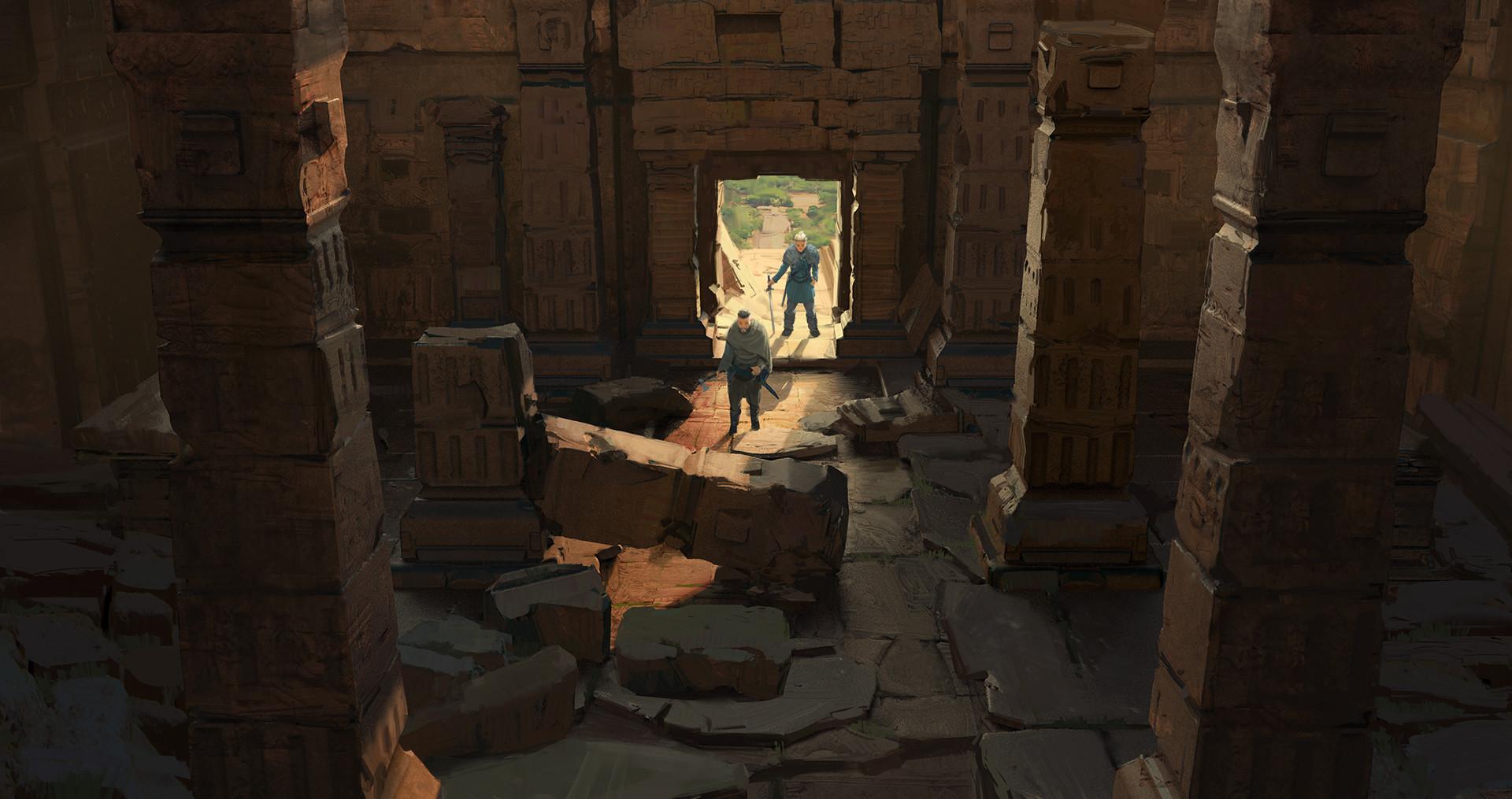 Jad saber ruins
