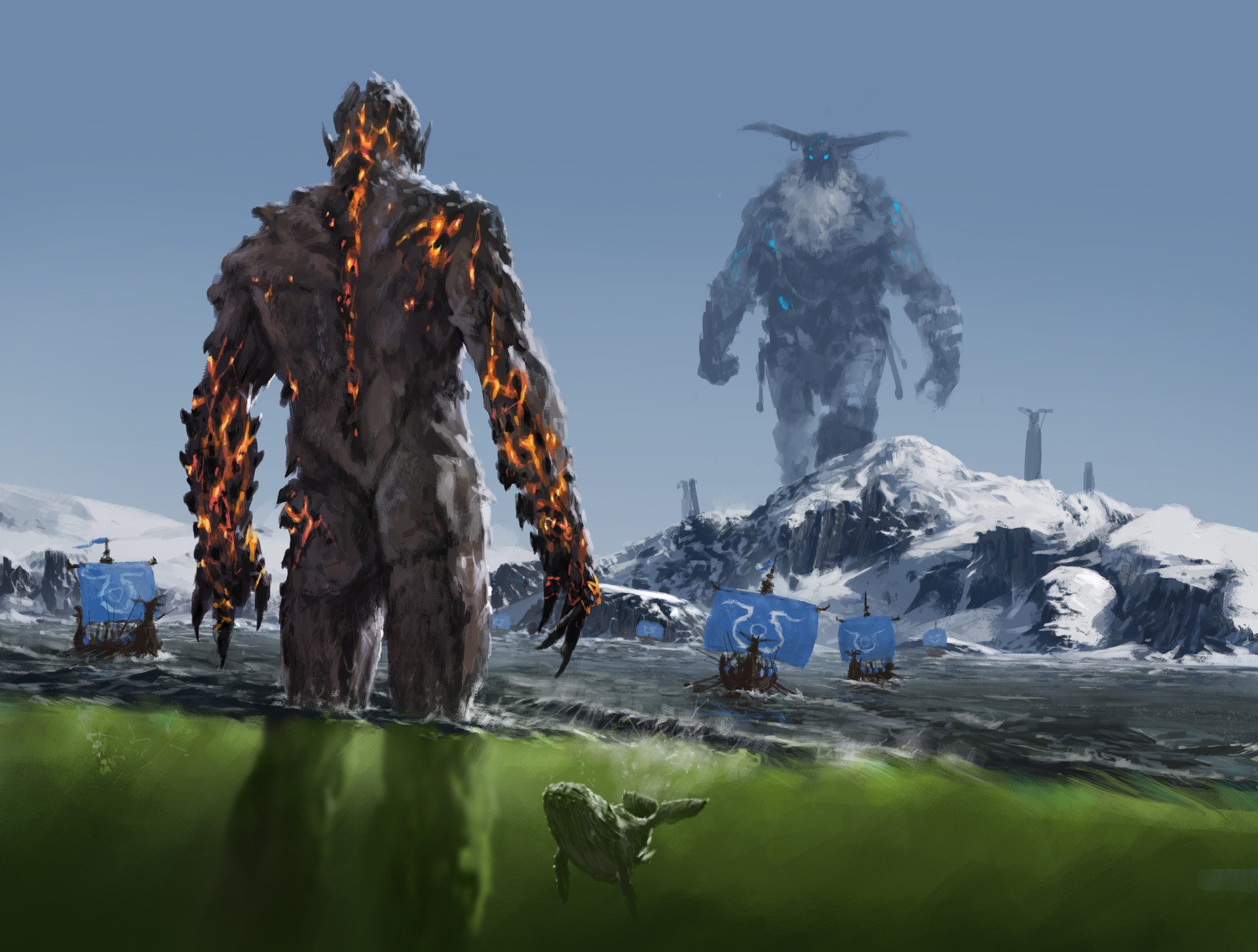 Jakub rozalski ancients conceptart 02p8